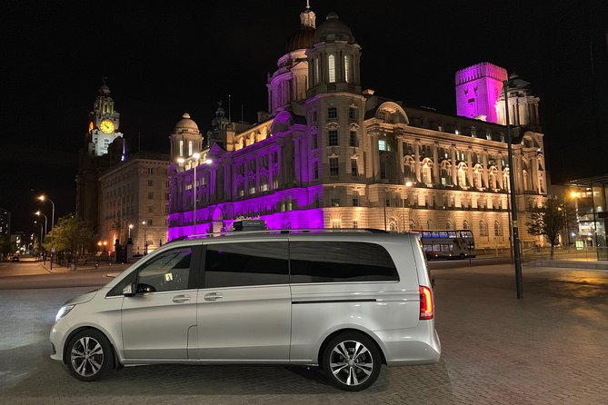 Enjoy Liverpool in Private Luxury Transport for visitors and special occasions.