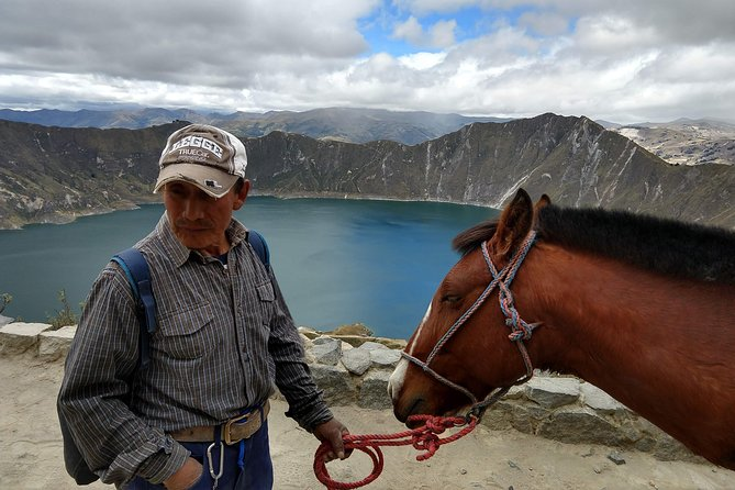 Quilotoa Crater Lake Private Day Tour: Trekking, Market, Art and Llamas