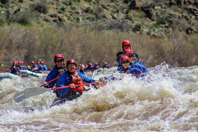 Arizona Rafting Salt River 2 Day Trip