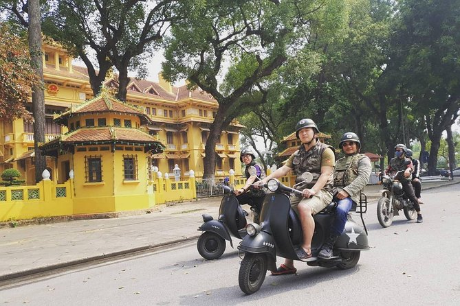 Hanoi Vespa Tours - FOOD, CULTURE & SIGHT Experience: 4.5 HOURS