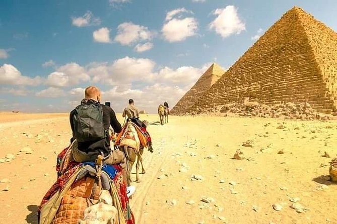 Ride a Camel at The Pyramids Area