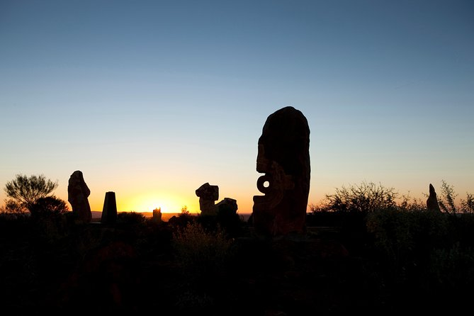 Outback Sunset Sculpture Tour