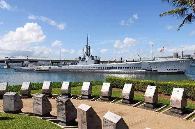 Half-Day Arizona Memorial and Bowfin Tour in Honolulu