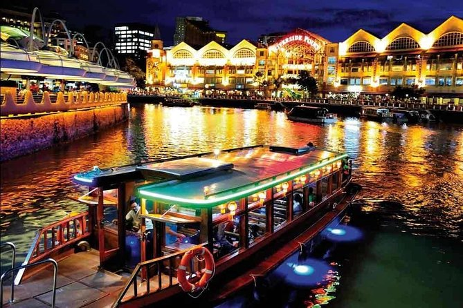 Singapore River Cruise Ticket with Audio-Guide 40 Minutes