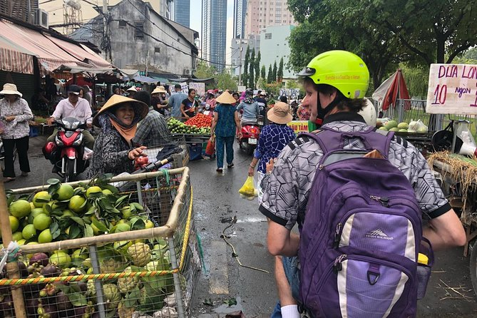 Half-Day Private Scooter Tour to Saigon's Street Markets