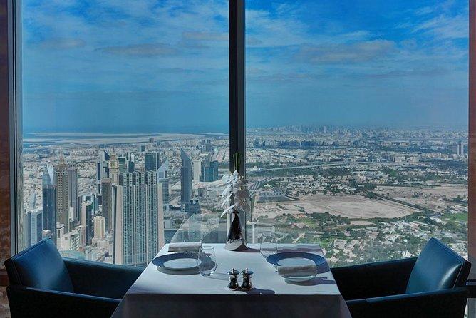 Lunch at Burj Khalifa