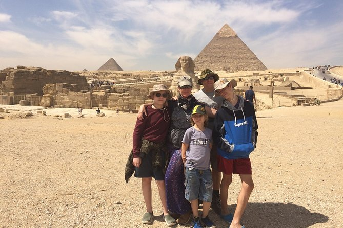 Cairo Layover to Giza pyramids, Great Sphinx and Nile Felucca Boat ride