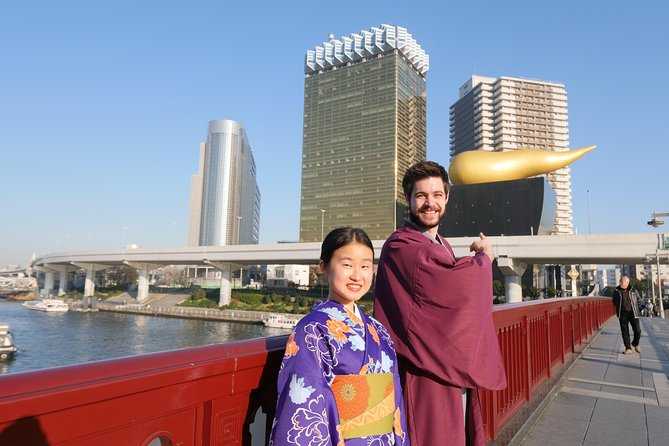 Half-Day Tokyo Kimono Photoshoot Walking Tour in Asakusa