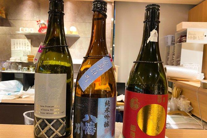 Tokyo Insider Sake Tasting Walking Tour