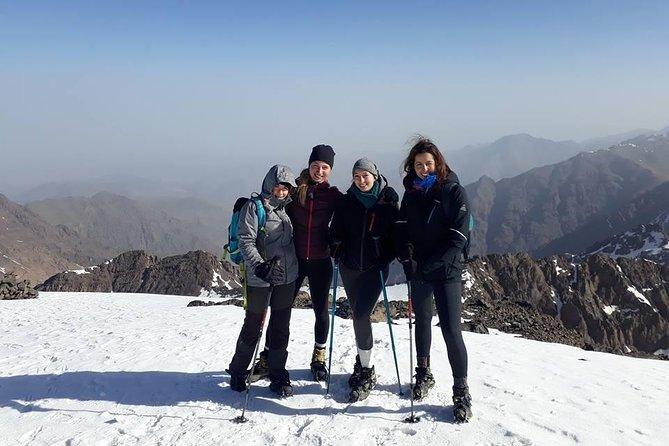 Winter Trek Toubkal Ascent 2 days 1 night