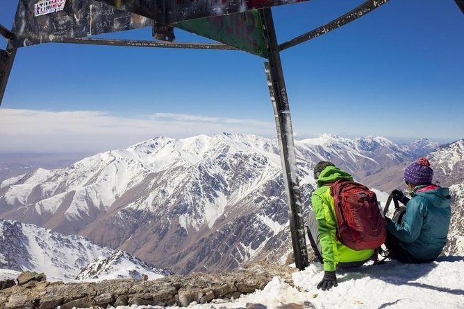 Toubkal trek 3 days with private guide in Atlas Mountains