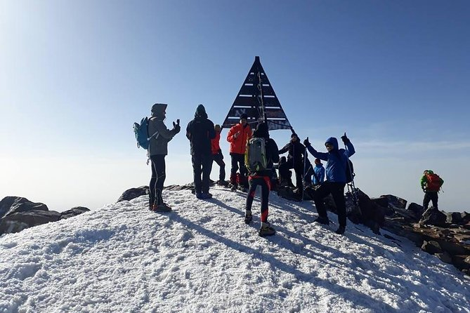 Shared Group 3 Day Mount Toubkal from Marrakech