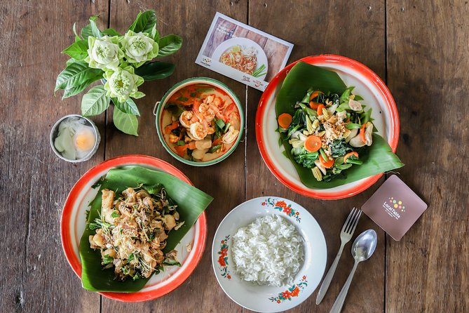 Tom Yum Kung Cooking Class Experience with Shrimp Farm Visit