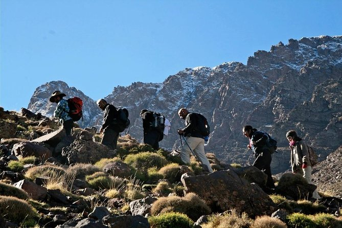 Shared Group 2 Day Climb Mount Toubkal from Marrakech