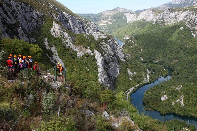Full Day Zipline Adventure on Cetina River!