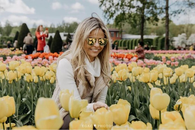 Private tour to the Keukenhof Flower Park from Amsterdam
