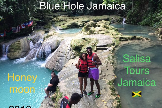 Blue Hole & Konoko Falls Combo Tour from Ocho Rios