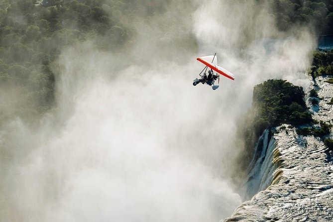 Microlight Flight Over the Victoria Falls