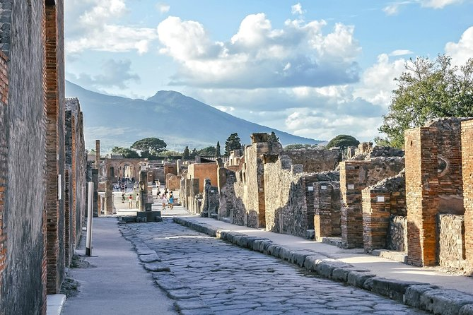 Private transfer from Rome to Sorrento, plus two hours in Pompeii. And viceversa.