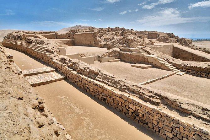 Pre Incan Temple of Pachacamac in Lima
