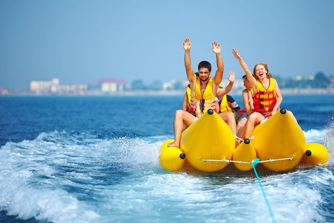 A variety of popular water activities in Bali