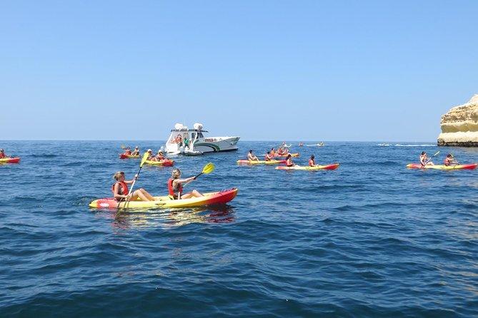 Benagil Kayak Tour On Board a Fantastic Catamaran