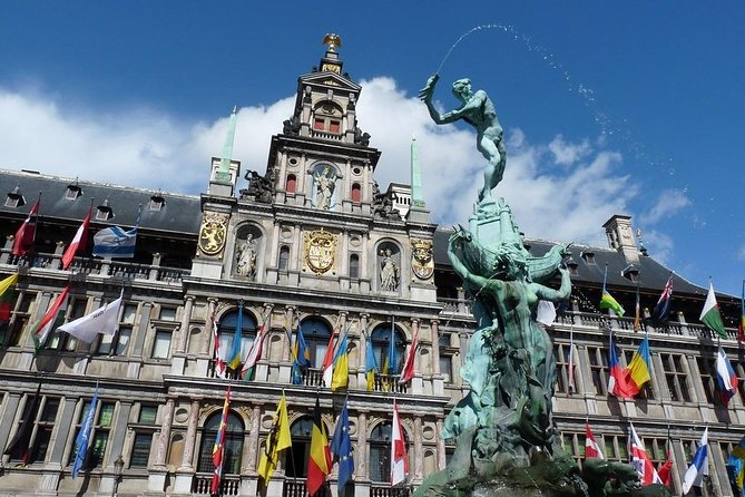 Private 8-hour excursion to Ghent and Antwerp from Brussels with Hotel Pick Up