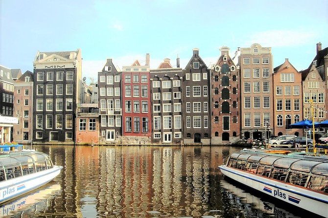 Amsterdam Private Tour of Must See Sites with a Native Guide & Stroopwafel