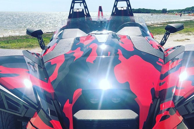 Full Day Polaris Slingshot Rental at St Pete Beach