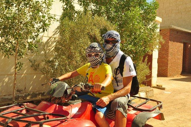 3-Hour Private Quad Bike Tour in Hurghada