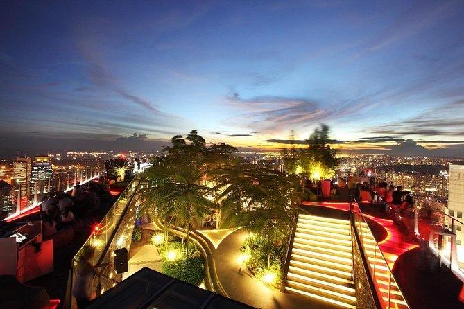 Singapore 1-Altitude Viewing Gallery Admission Ticket 【Soft Drink Included】