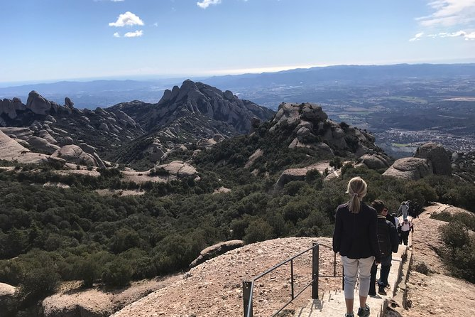 Hike to Top of Montserrat Mountain, Sant Jeroni. Small Group, from Barcelona. photo 2