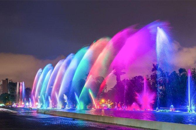 #1 City Tour by Night & Magic Fountains Park - Light Show