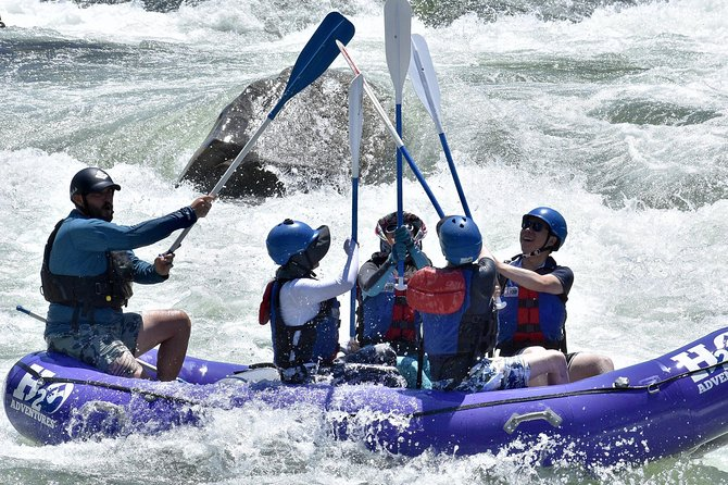 South Fork Half-Day Whitewater Rafting Trip from Lotus (Class 2-3+)
