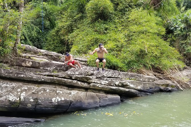 Private Swimming Day Trip in Las Paylas River from San Juan