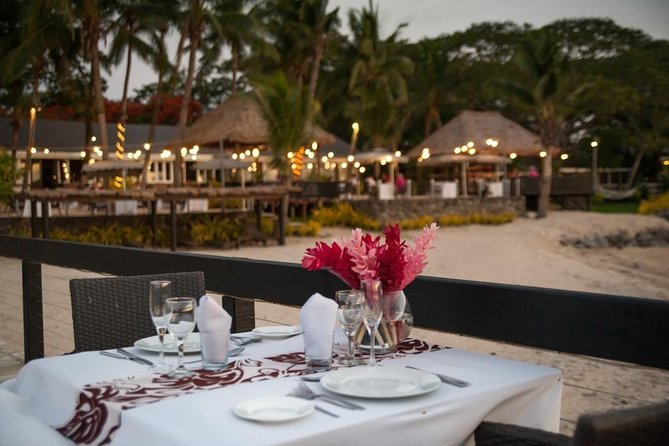 Private Sunset Romantic Dinner in Lautoka with Heli Transfer