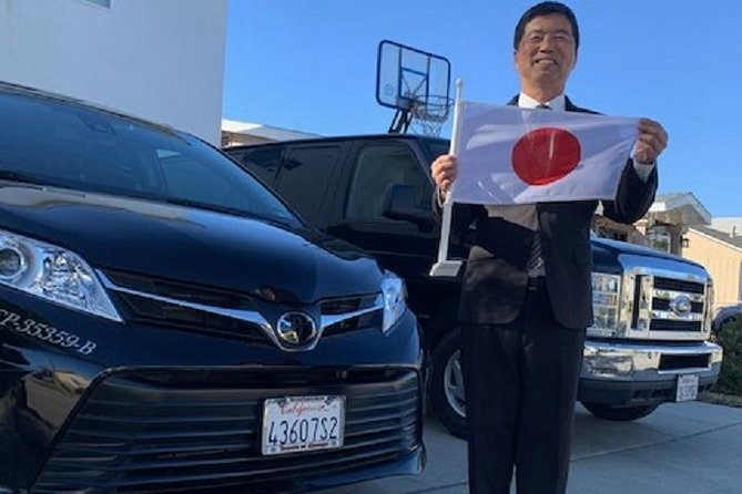Special discount rate Japanese limousine driver (English driver) Anaheim⇒Los Angeles International Airport transfer service <minivan only car / 1-6 people>