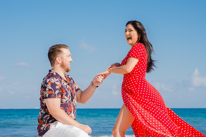 Secret photographer for your Cancun Marriage Proposal