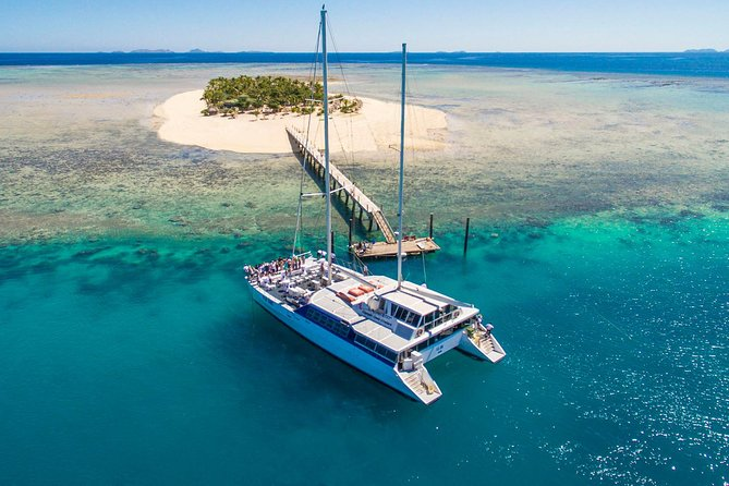 Full-Day Trip to Tivua from Nadi by Helicopter and Sailboat