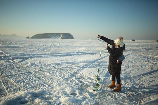 Ice fishing experience