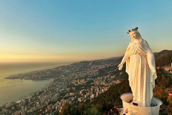 From Beirut: Jeita, Harissa, and Byblos Tour with Lunch