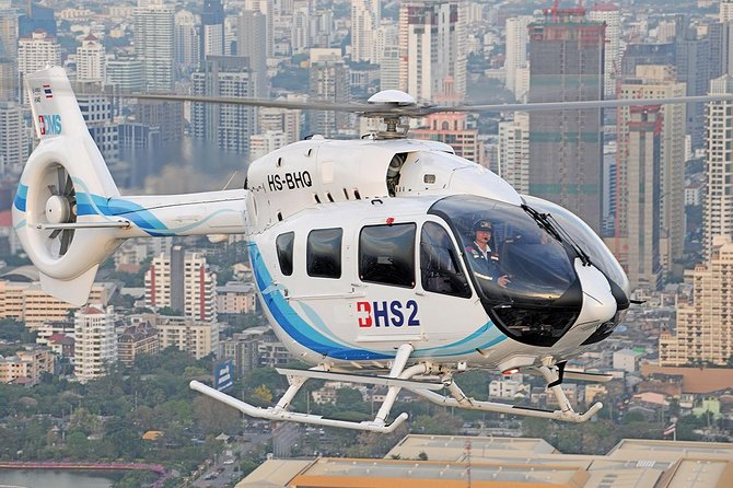 Bangkok Skyline : The Capital City Tour by Helicopter