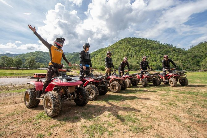 8 km Inflatable kayaking and ATV Quad Bike Adventures in Chiang Mai