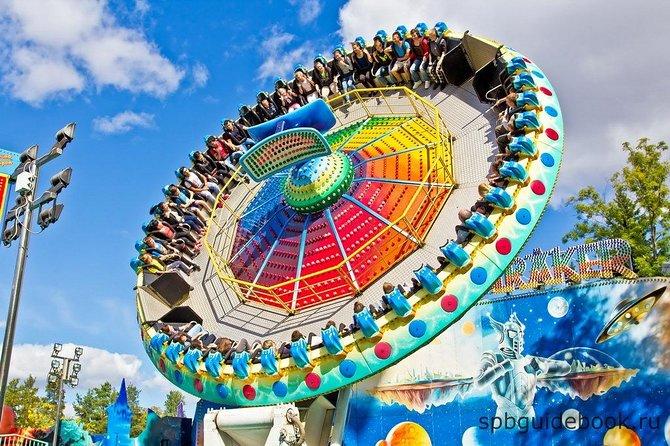 Divo Osrov Amusement Park in Saint Petersburg
