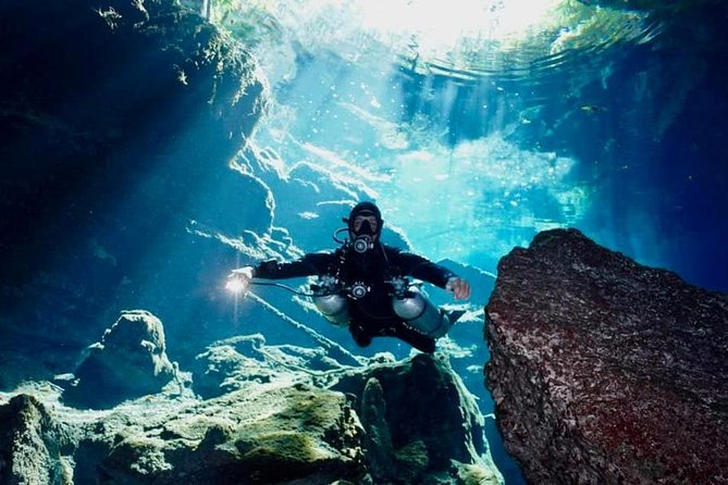1 day of diving in Cenotes