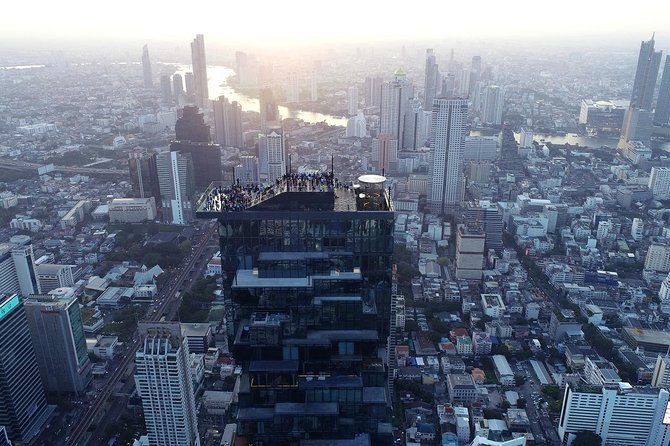 Mahanakhon SKY WALK Ticket with Pick-up - Bangkok's Highest Observation Deck