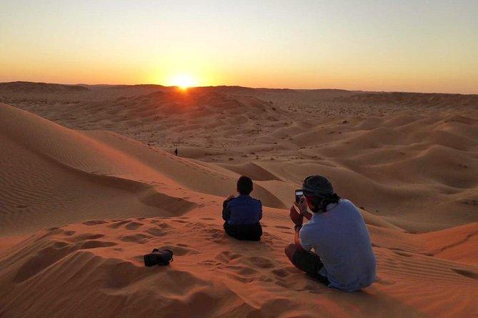 Experience a Sunset Desert Trip.