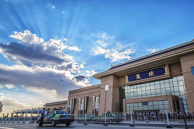 Dunhuang Railway Station Private Departure Transfer from City Hotels
