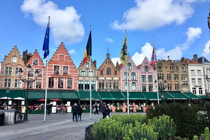 3-Day Rail Tour - Brussels to Bruges & Amsterdam (Return)
