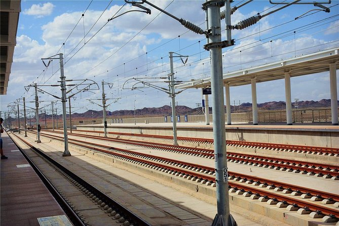 Private Liuyuan Train Station Departure Transfer from Dunhuang City Hotels